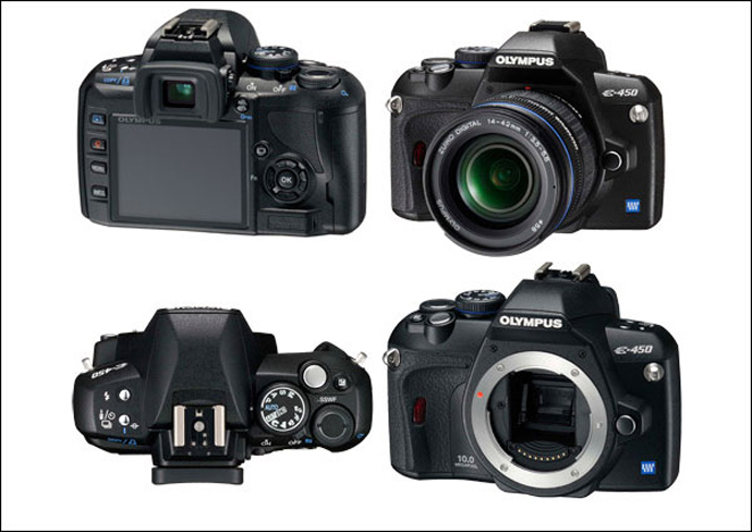 Обзор фотоаппарата Olympus E-450