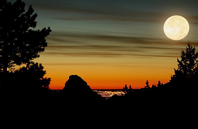 Как правильно сфотографировать луну