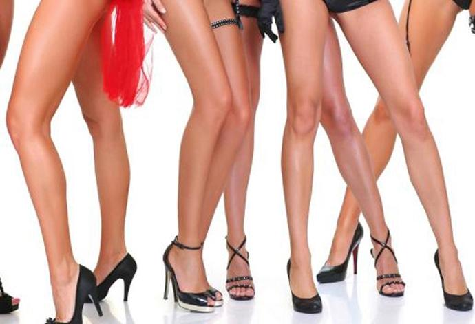 Как красиво сфотографировать ноги