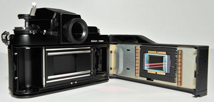 Матрица в цифровой фотокамере