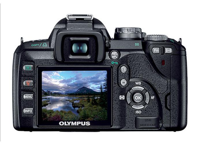 Обзор фотоаппарата Olympus E-510
