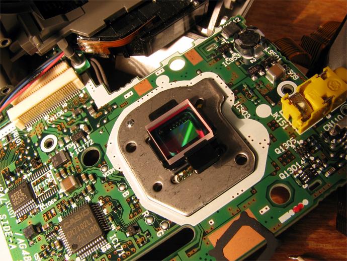 Размеры матриц цифровых фотоаппаратов