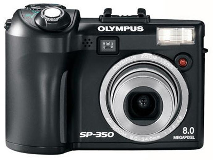 Обзор фотоаппарата Olympus SP-350