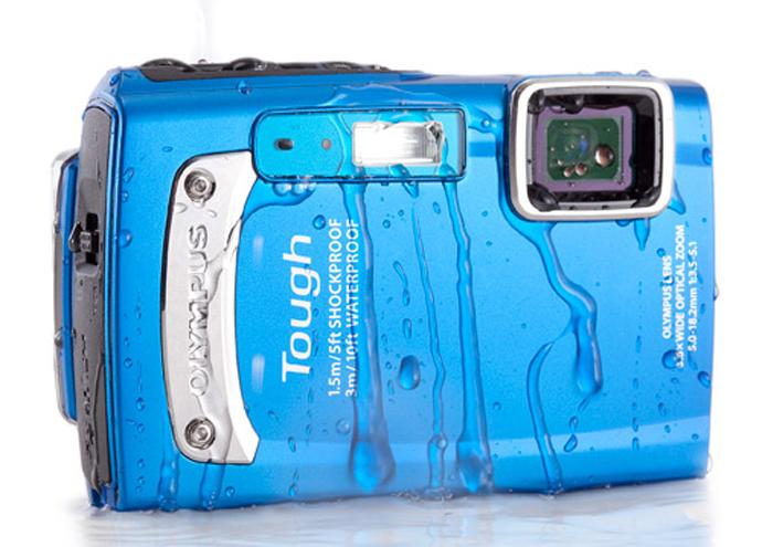 Защищенный фотоаппарат Olympus TOUGH TG-310