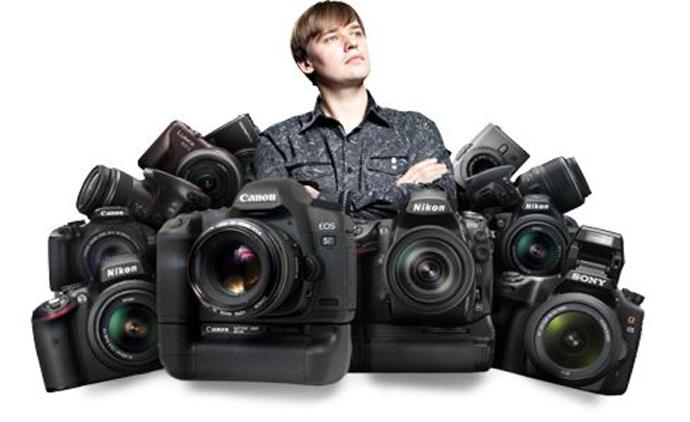 Бюджетные зеркальные фотоаппараты