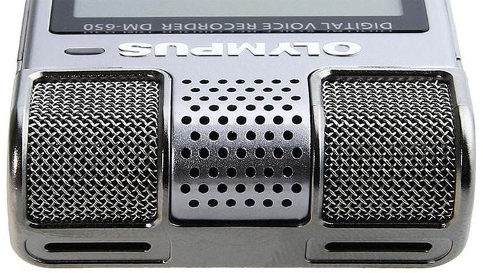 Обзор диктофона Olympus DM-650