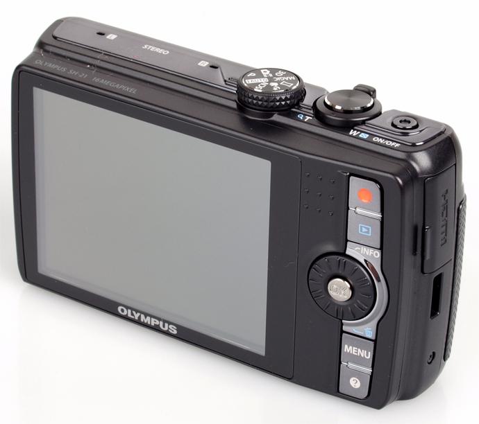 Обзор цифрового фотоаппарата Olympus SH-21